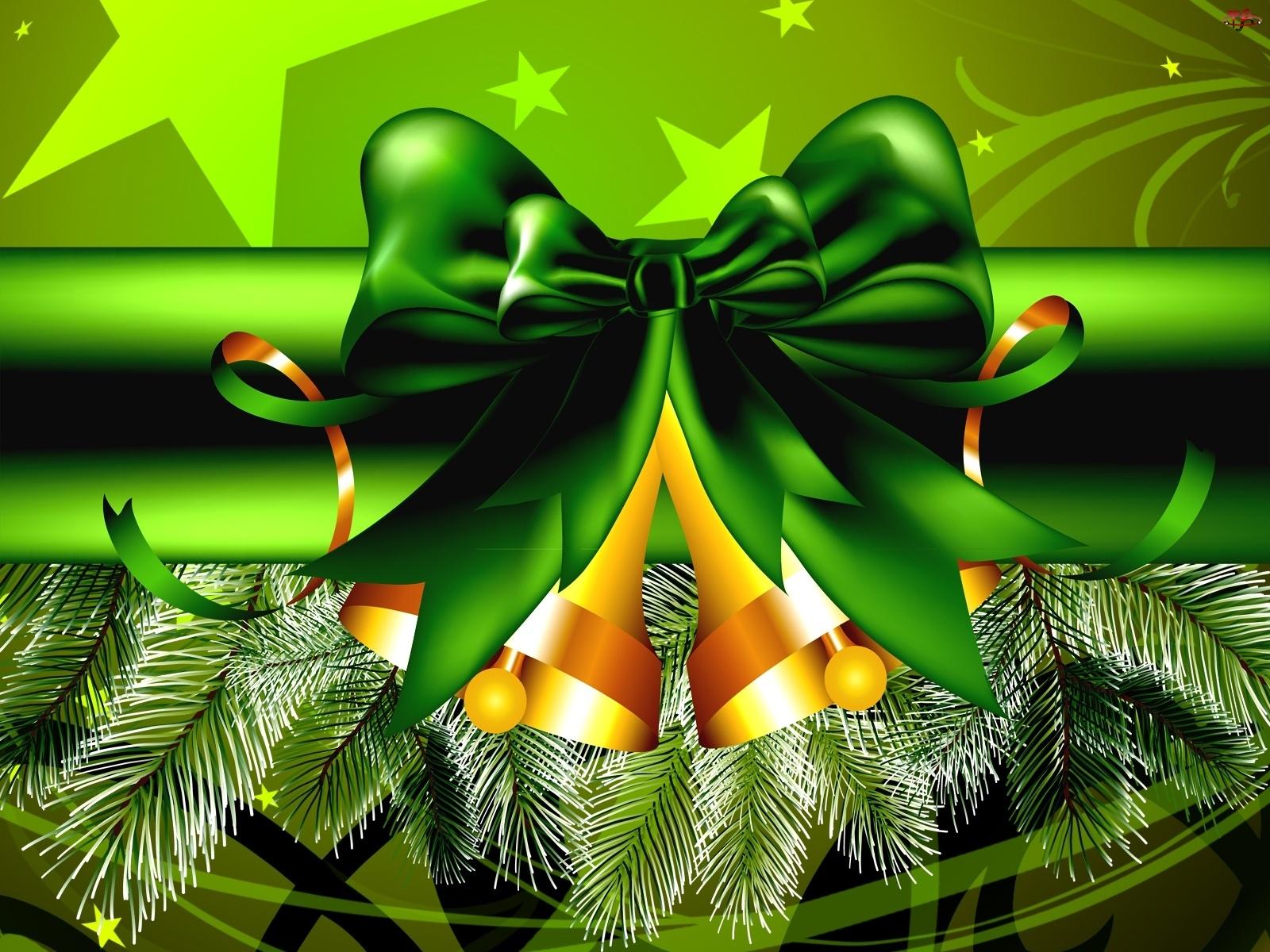 Dzwonki, Boże Narodzenie, Złote
