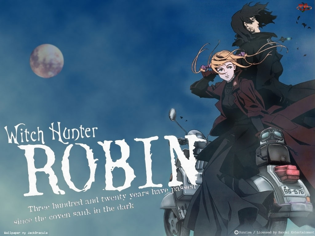 Witch Hunter Robin, motor, postacie