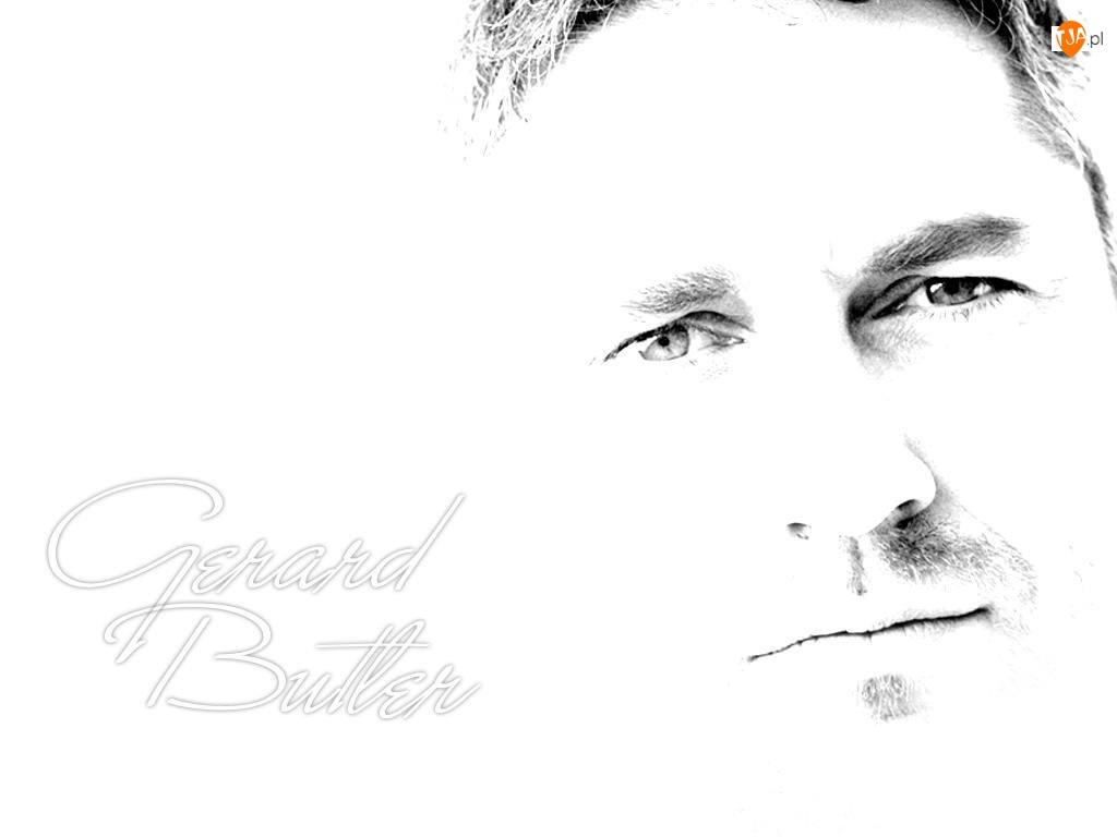 usta, Gerard Butler, oczy