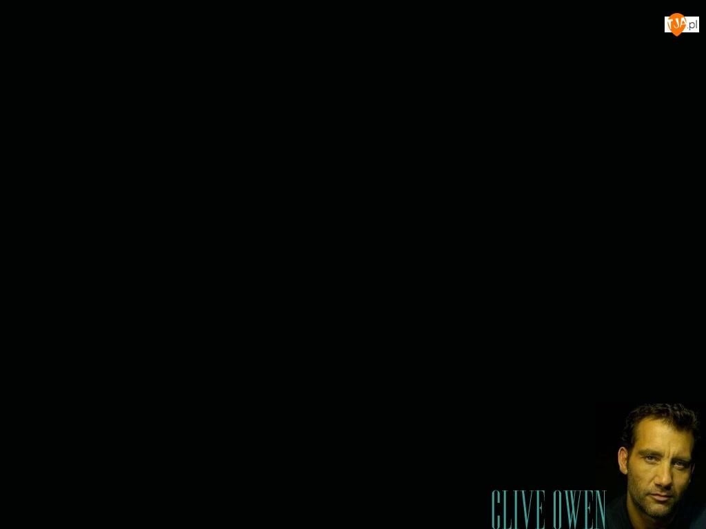 jasne oczy, Clive Owen, ciemne włosy