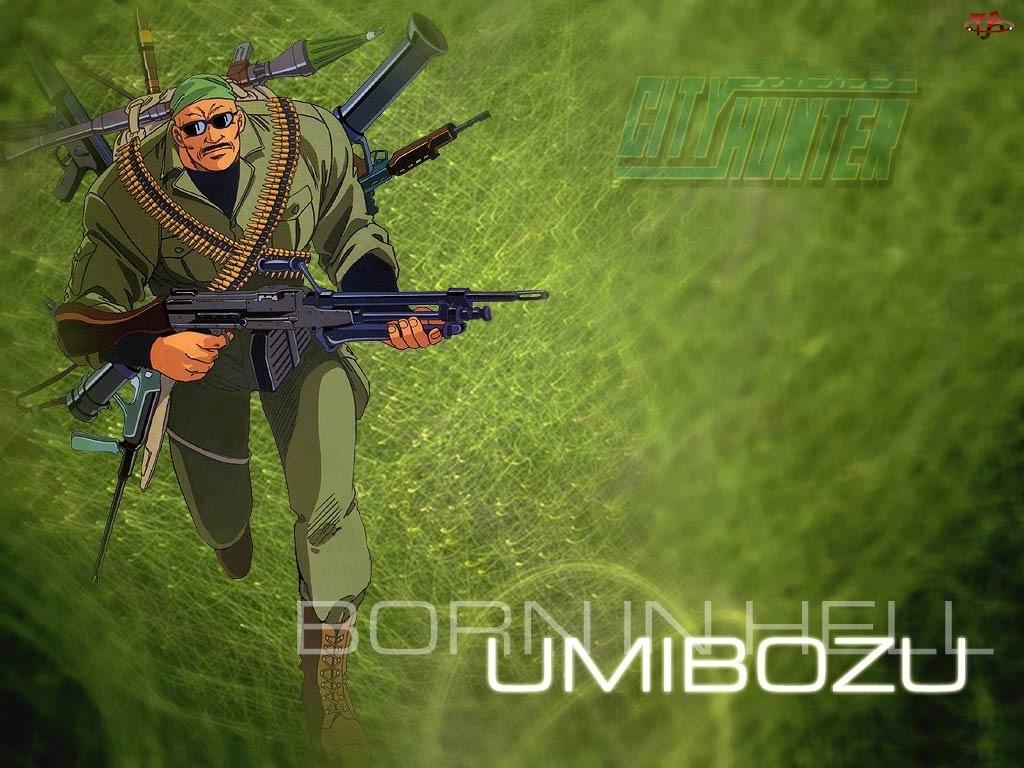City Hunter, broń, postać, żołnierz