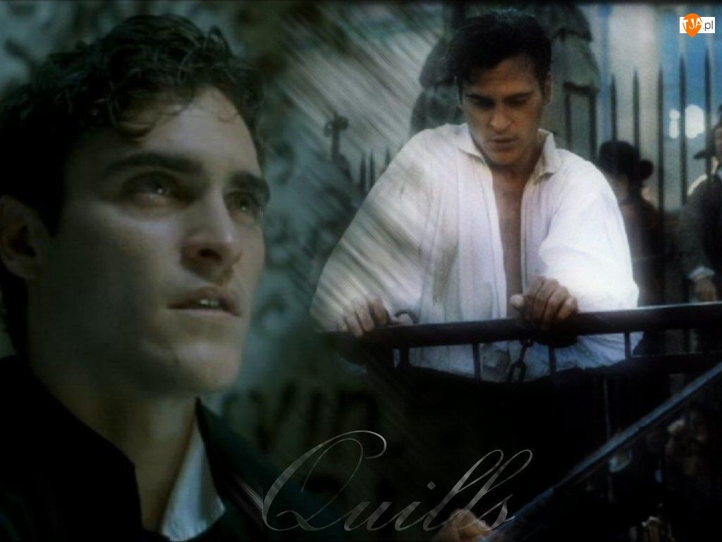 Joaquin Phoenix, biała koszula