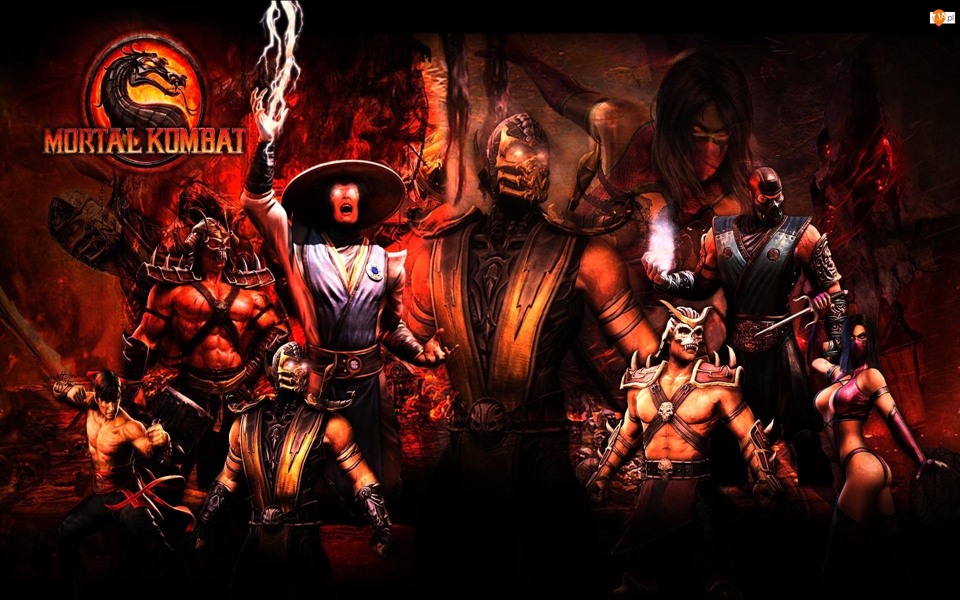 Bronie, Podziemia, Mortal Kombat, Wojownicy, Magia