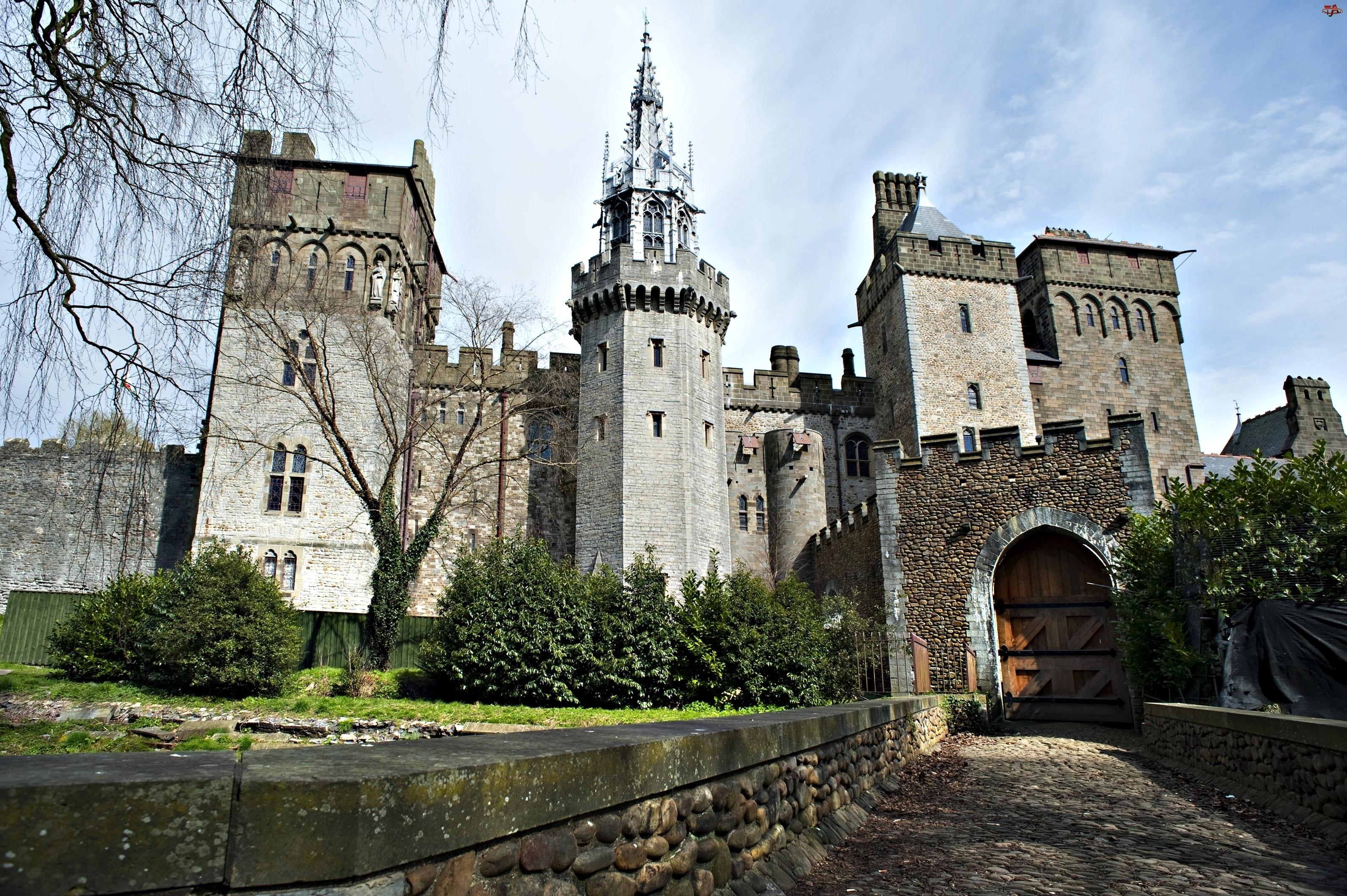 Walia, Zamek, Cardiff