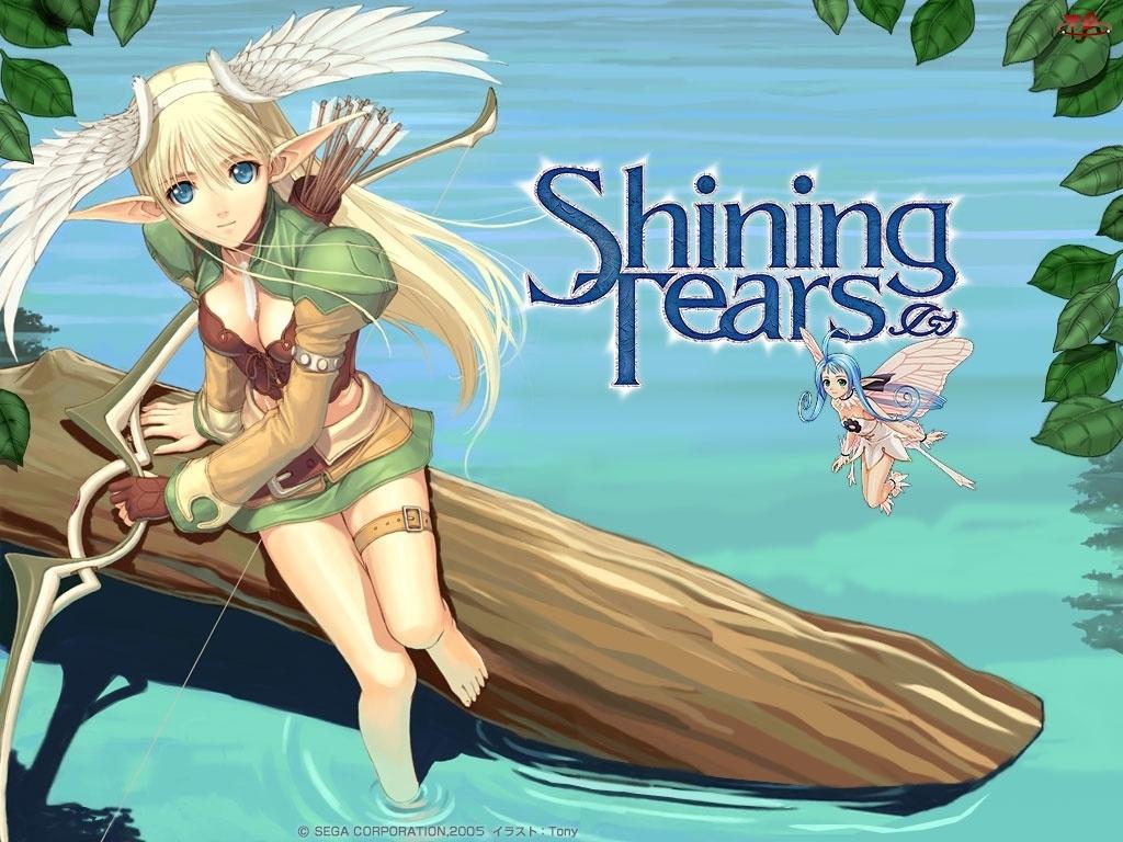 strzała, Shining Tears, kobieta, postać, elf