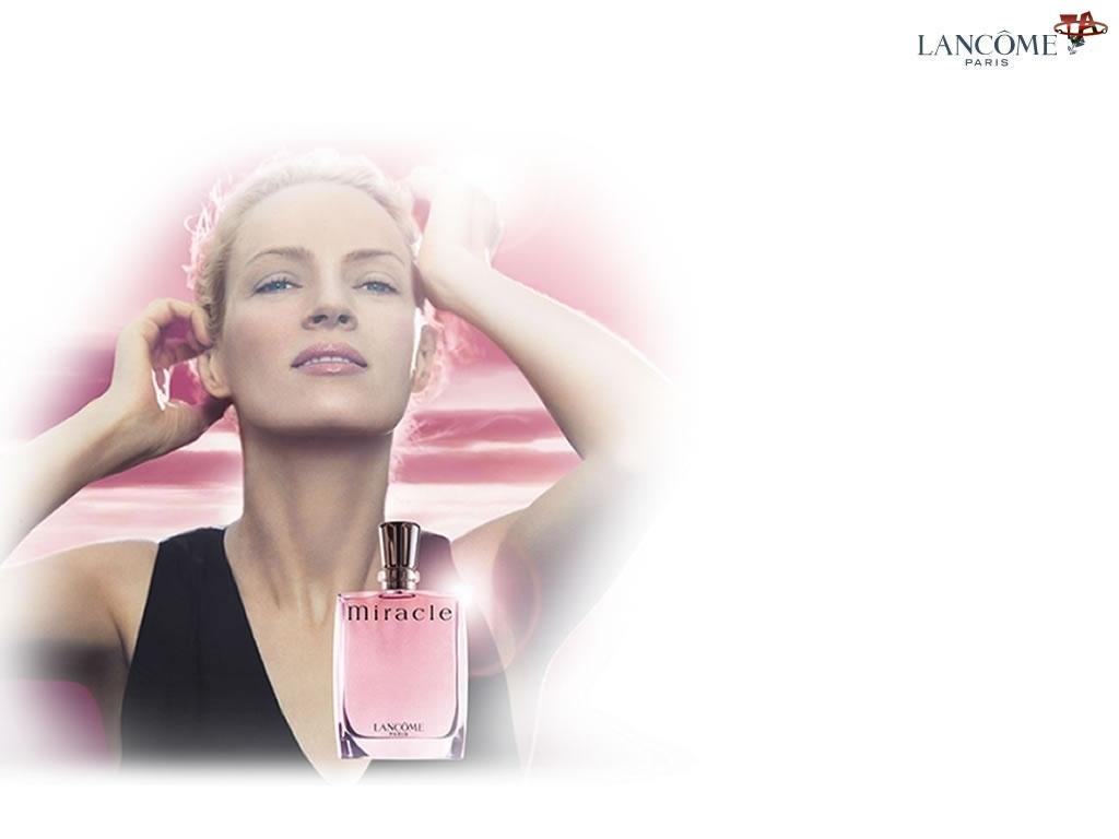 Lancome, perfumy, kobieta, flakon