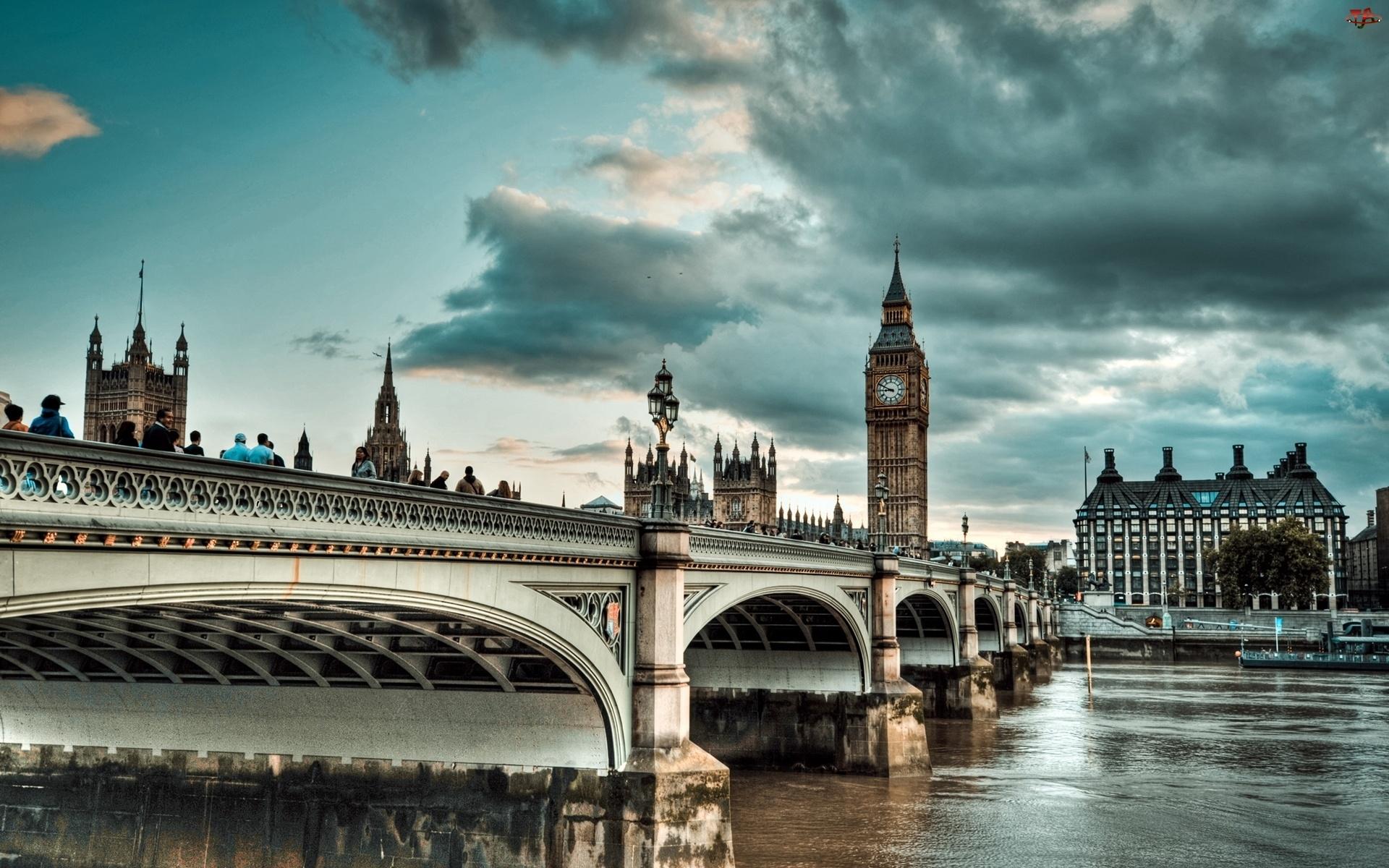 Big Ben, Londyn, Westminster Bridge