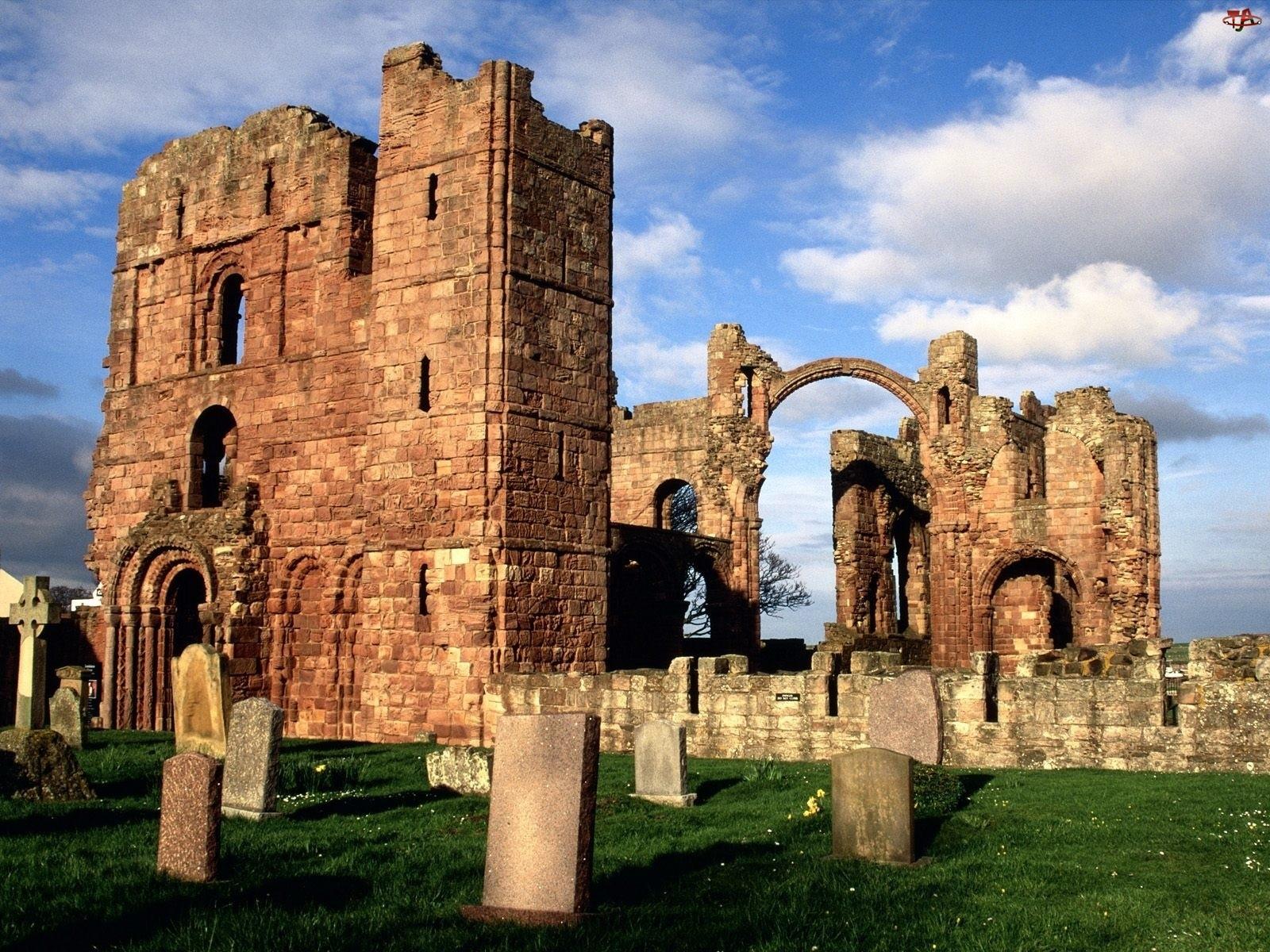 Kościoła, Cmentarz, Ruiny