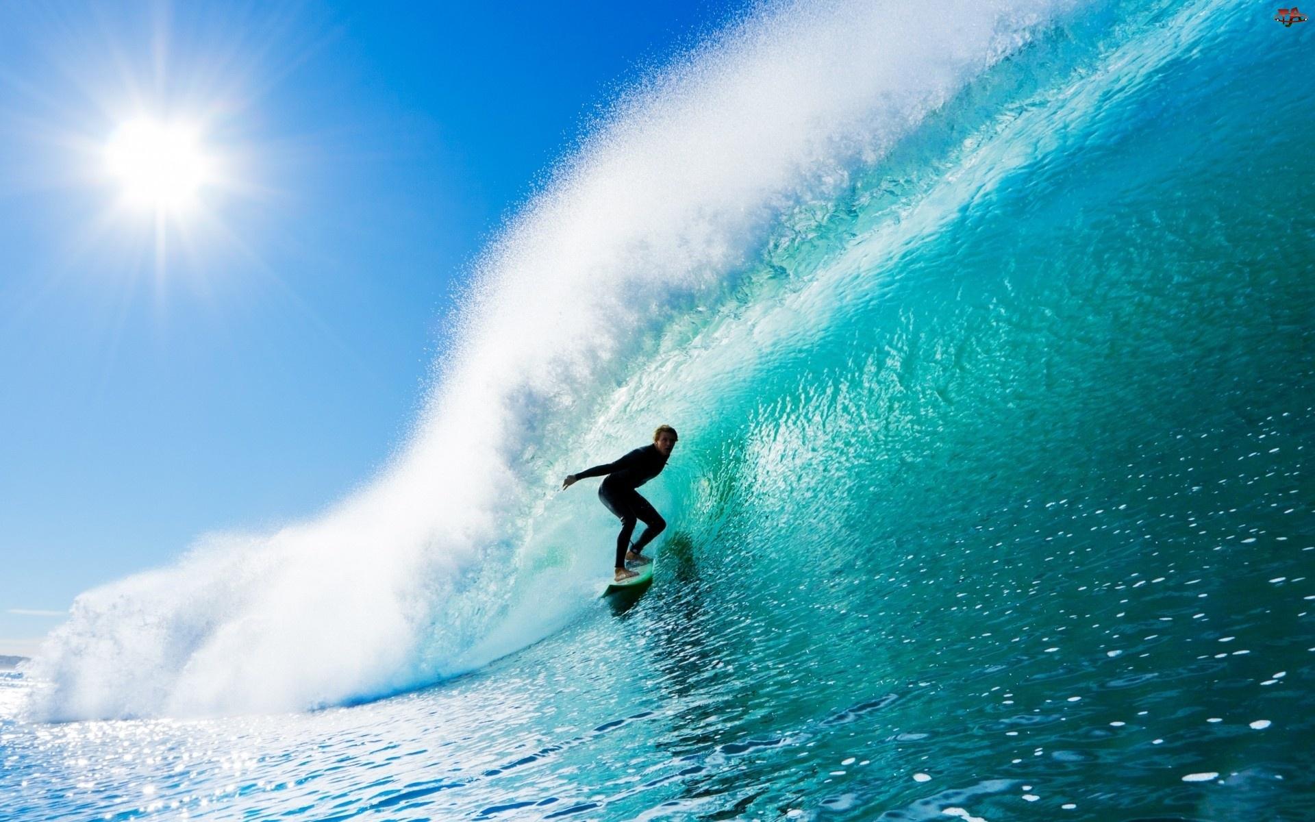 Surfing, Morze, Fala