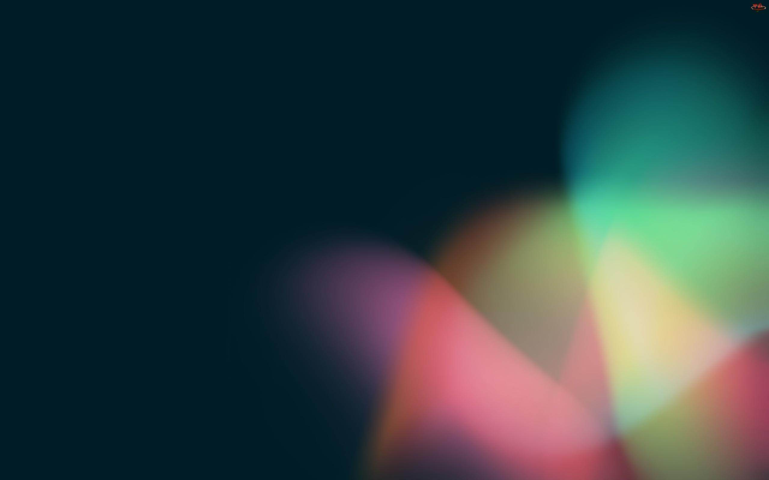 Bean, Kolory, Android, 3D, Jelly, Światło