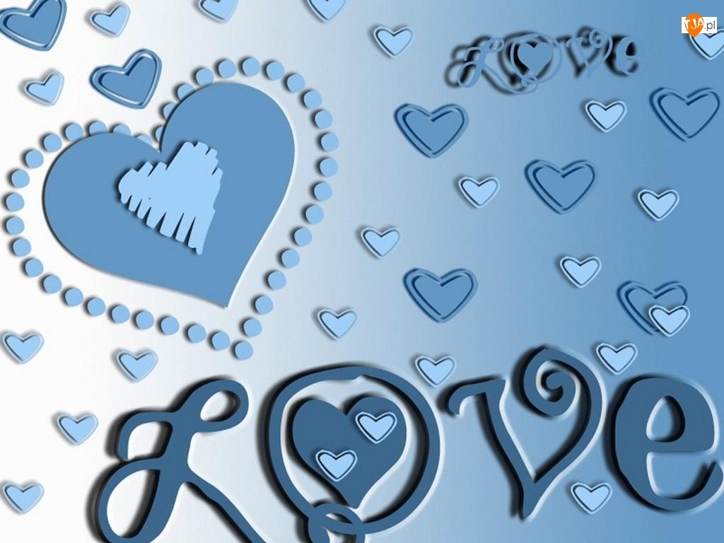 serca, Walentynki, LOVE