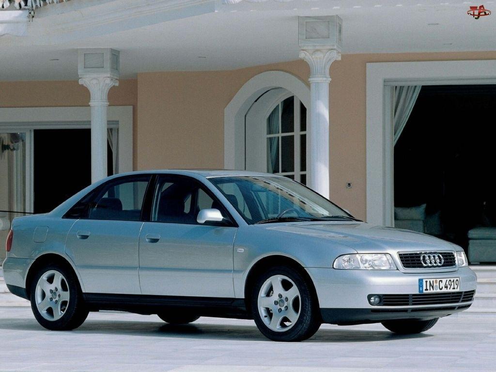 Srebrne, Audi A4