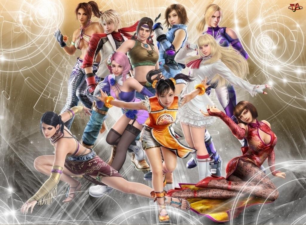 Tekken 6, Dziewczyny