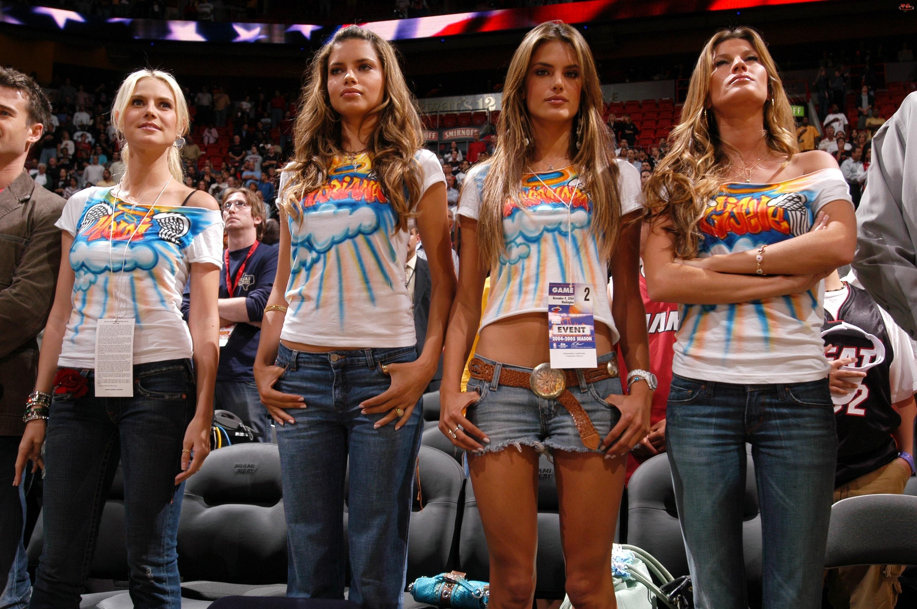 Heidi Klum, Modelki, Alessandra Ambrosio, Gisele Bundchen, Adriana Lima