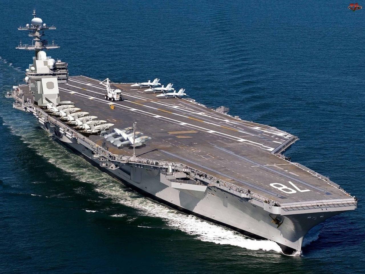 Lotniskowiec, Okręt, Amerykański