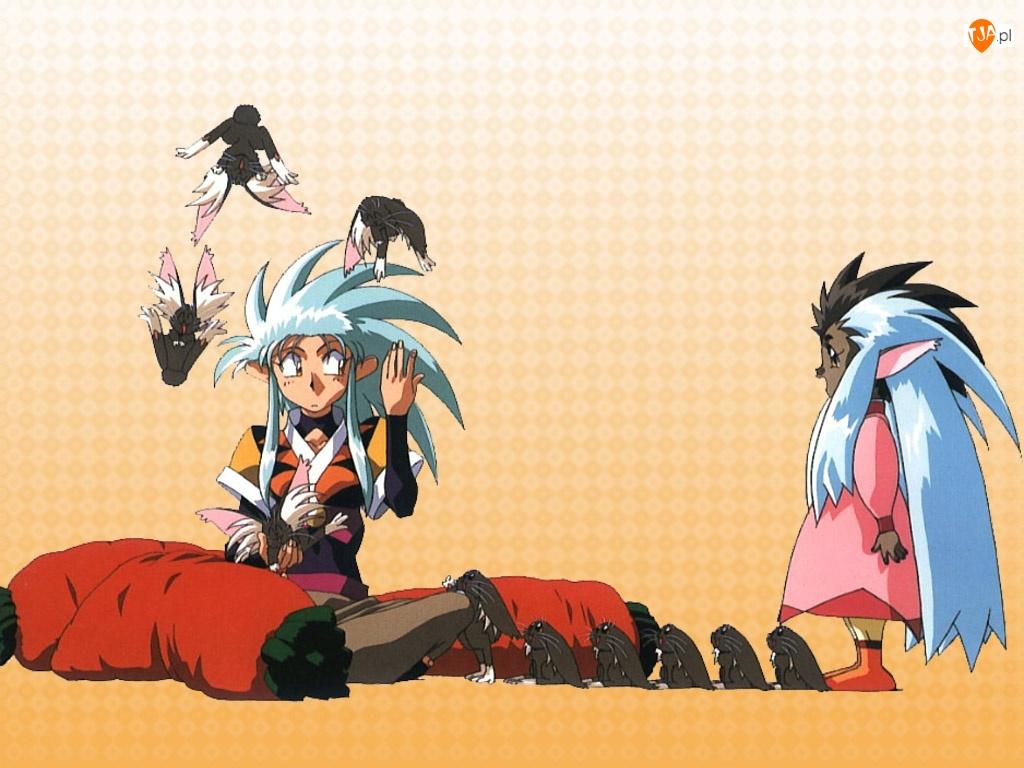 Tenchi Muyo, postacie