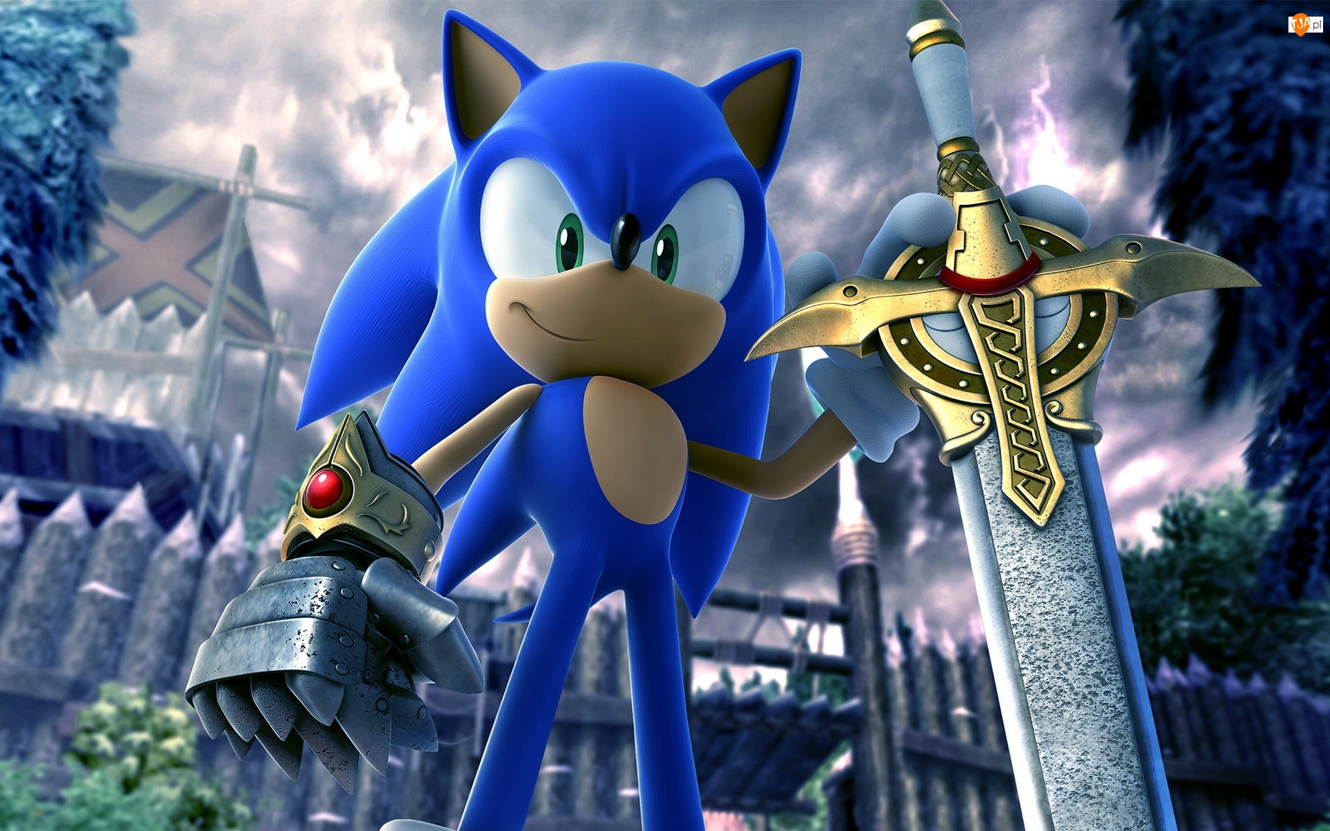 Sonic, Miecz