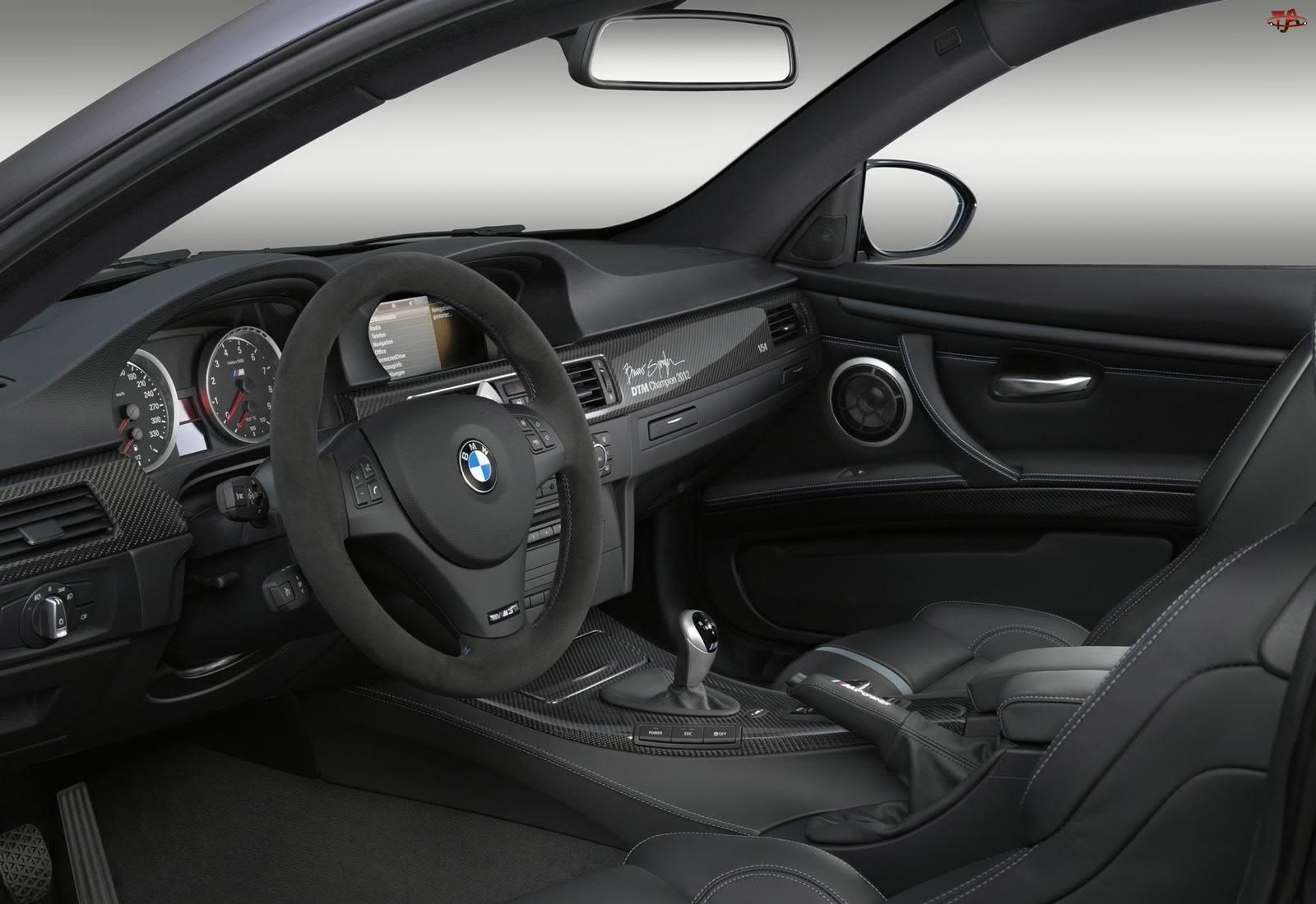 Wnętrze, BMW, M3