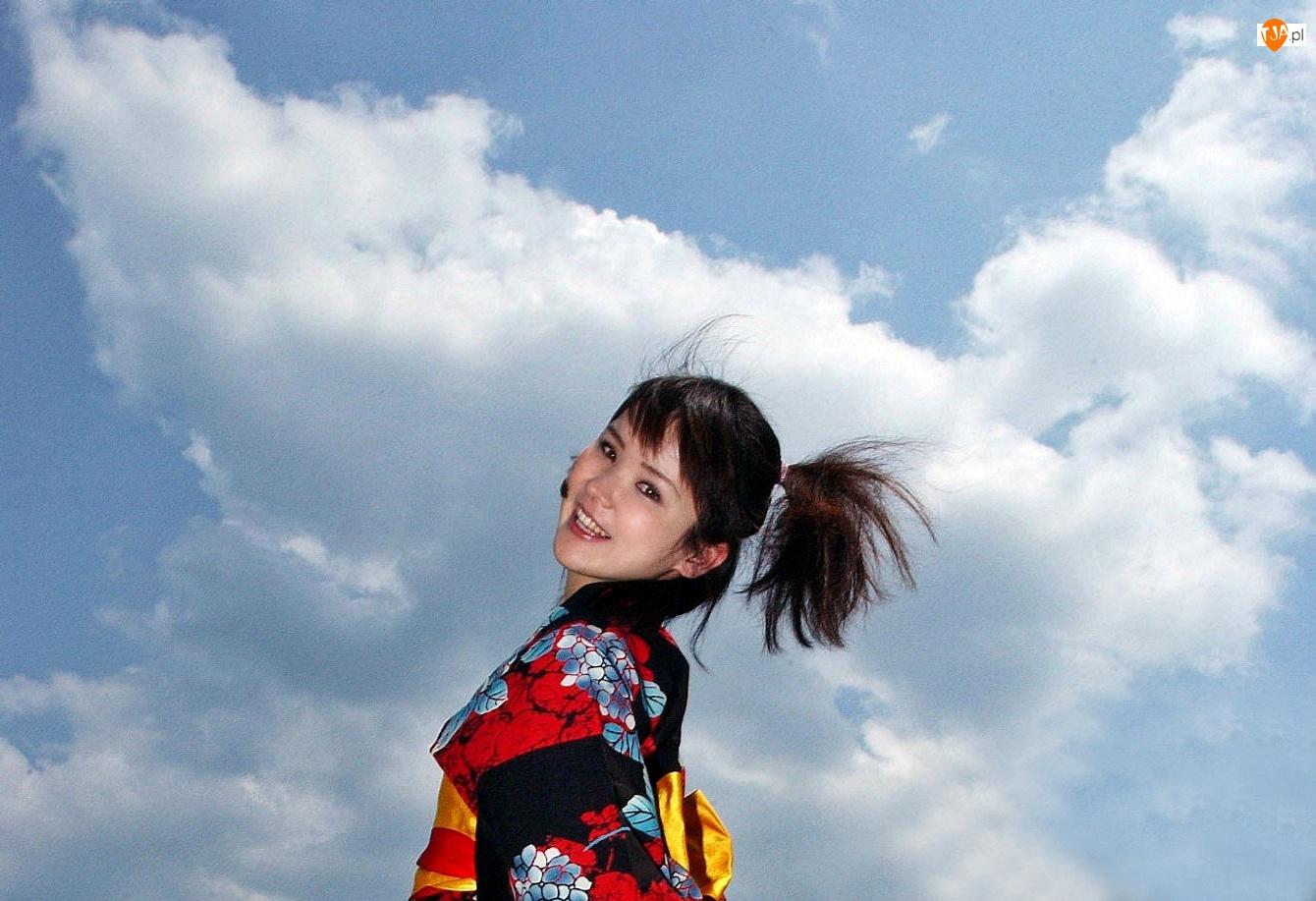 Dziewczyna, Chmury