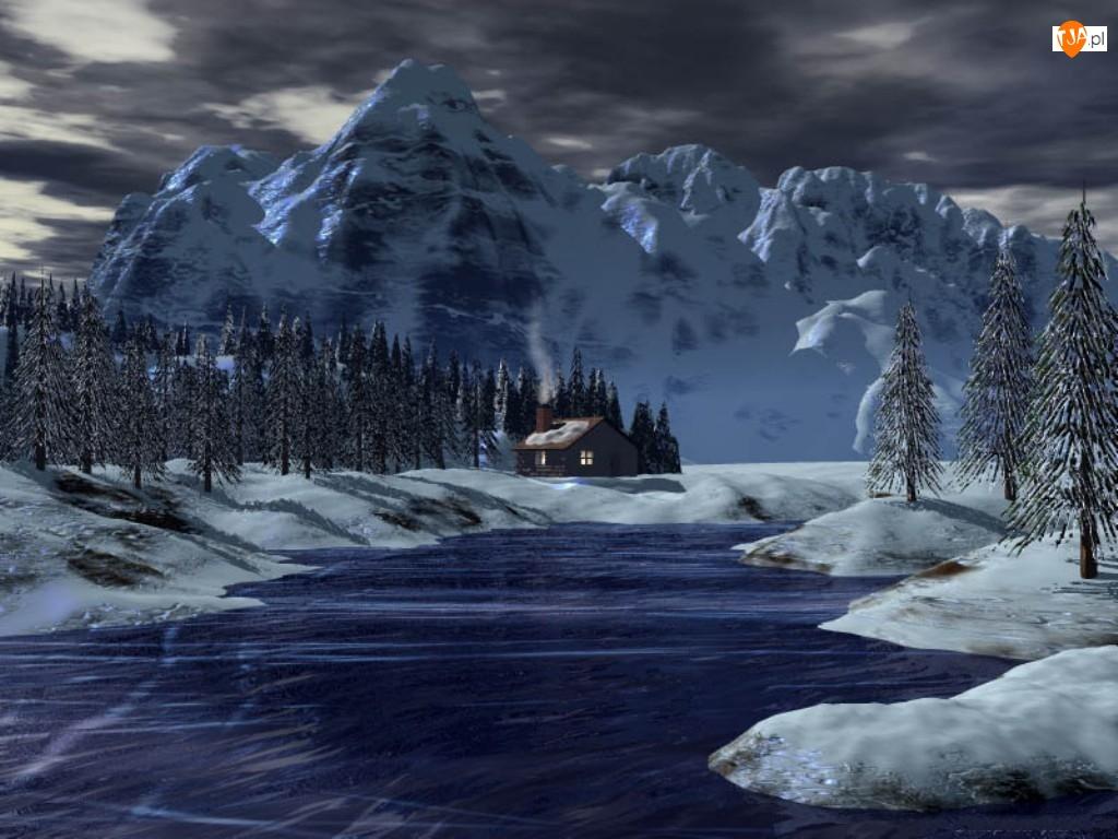 Góry, Widoczek, Zima