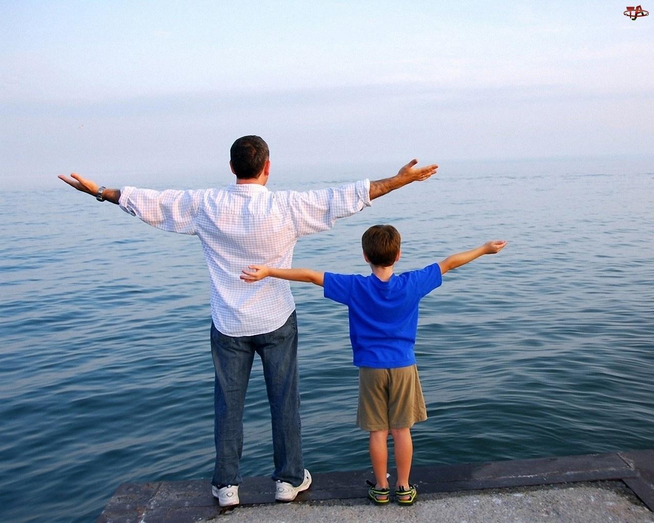 Morze, Ojciec, Syn