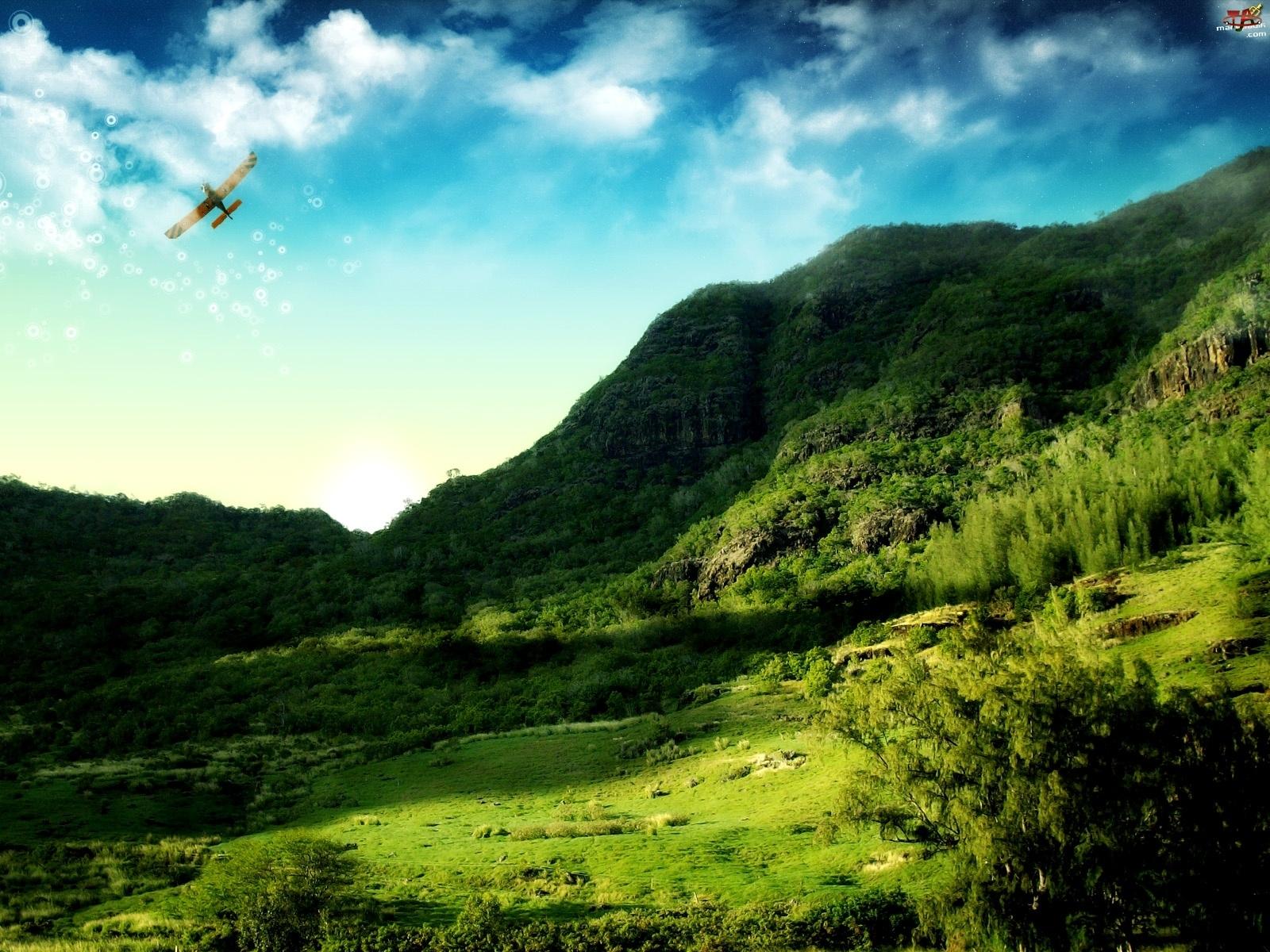 3d, Góry, Niebo