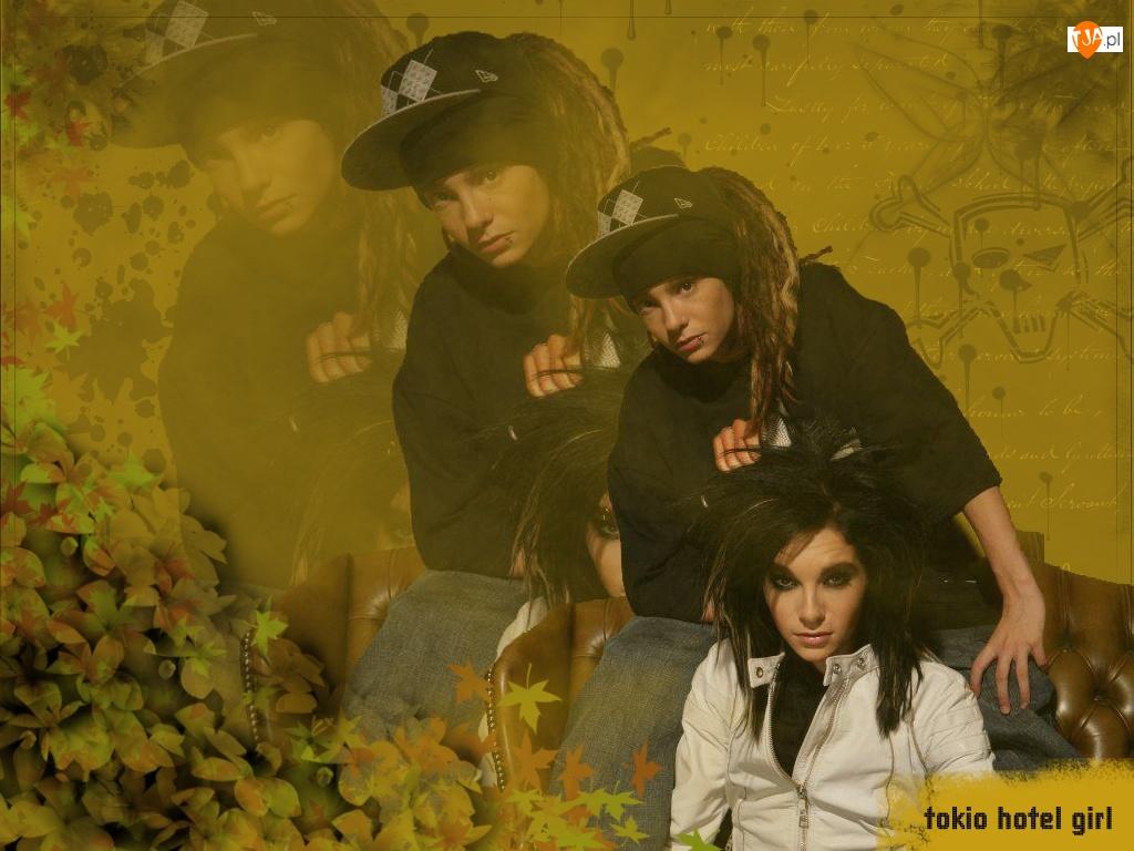 kobieta, Tokio Hotel, girl