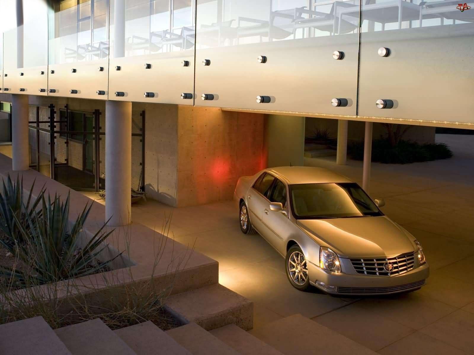 Parking, Cadillac DTS, Reklama
