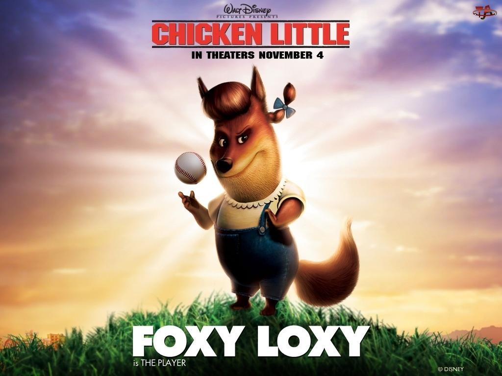 Kurczak Mały, Foxy Loxy