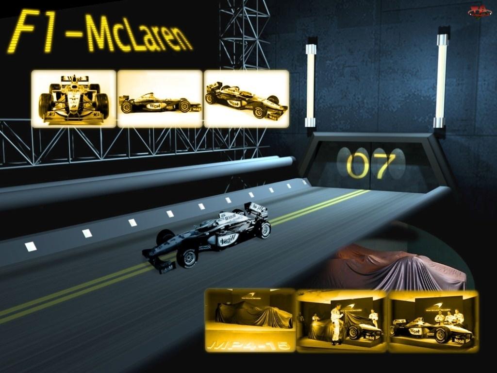 testy, Formuła 1, McLaren
