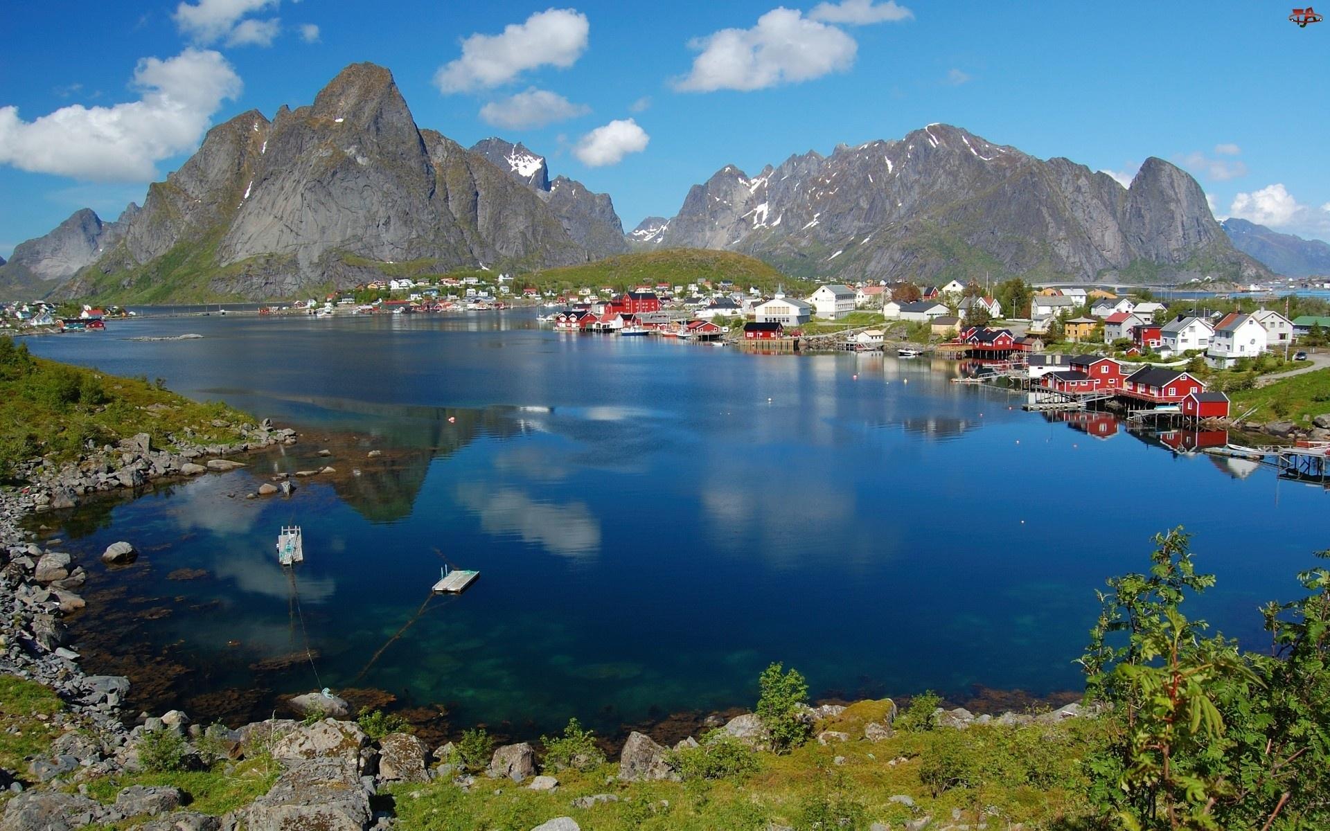 Reine, Norwegia, Lofoty, Archipelag, Miejscowość