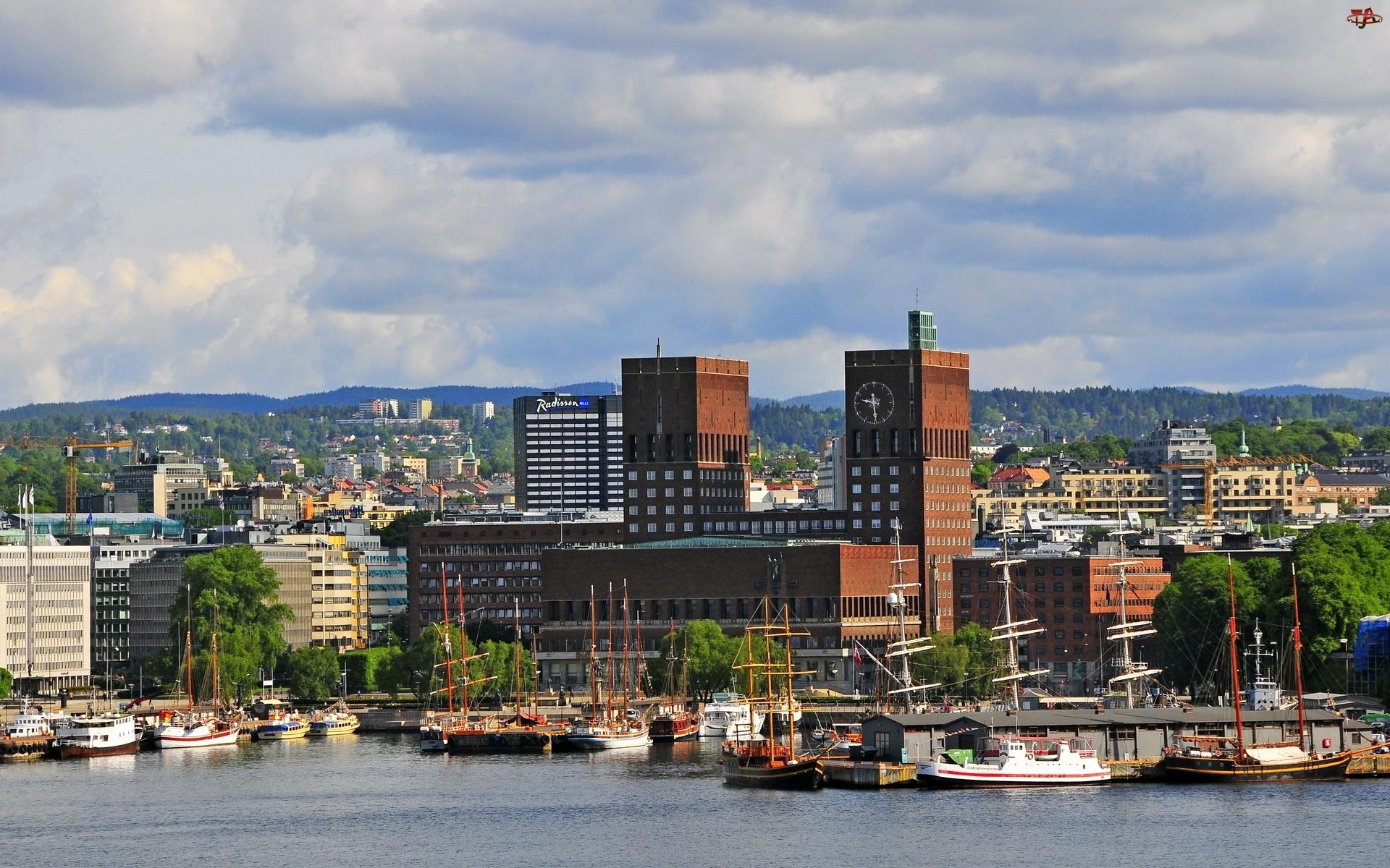 Miasto, Żaglowce, W, Norwegi