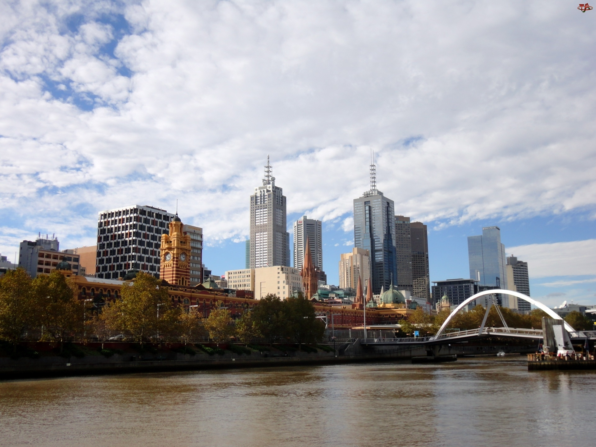 Wieżowce, Miasto, Melbourne