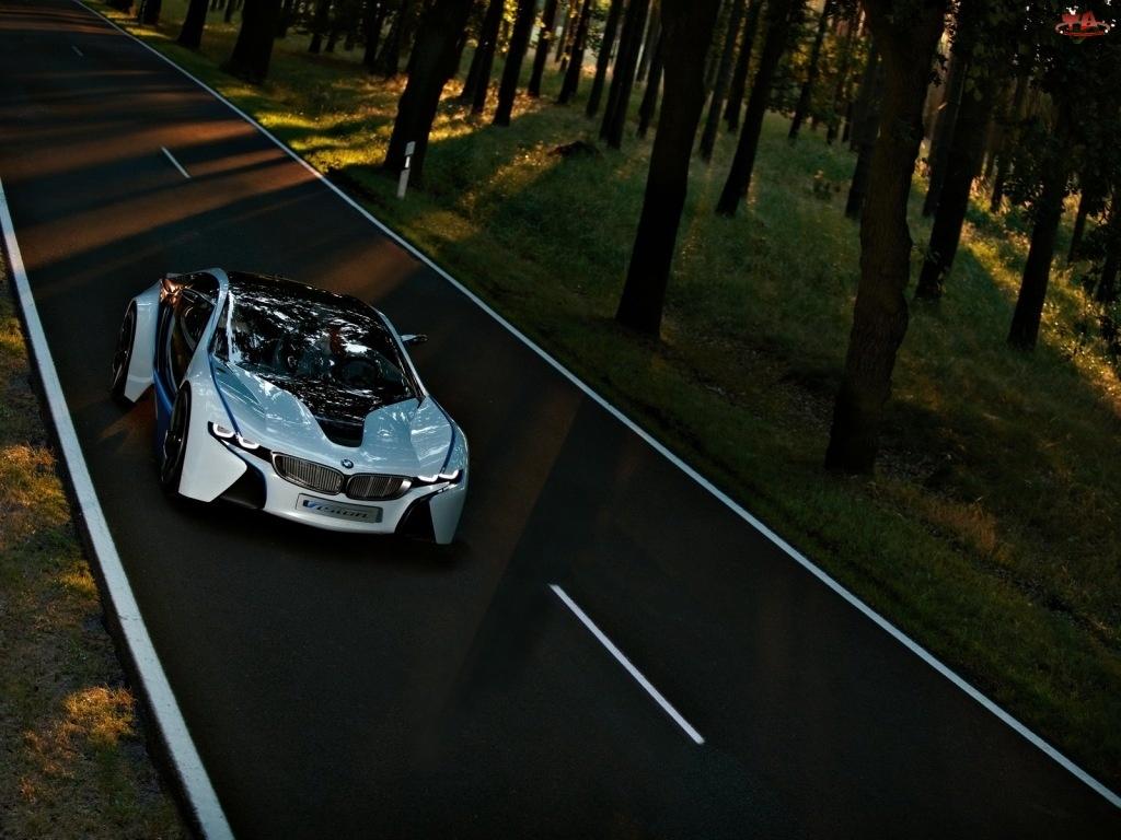 Przeszklona, BMW Vision, Przestrzeń