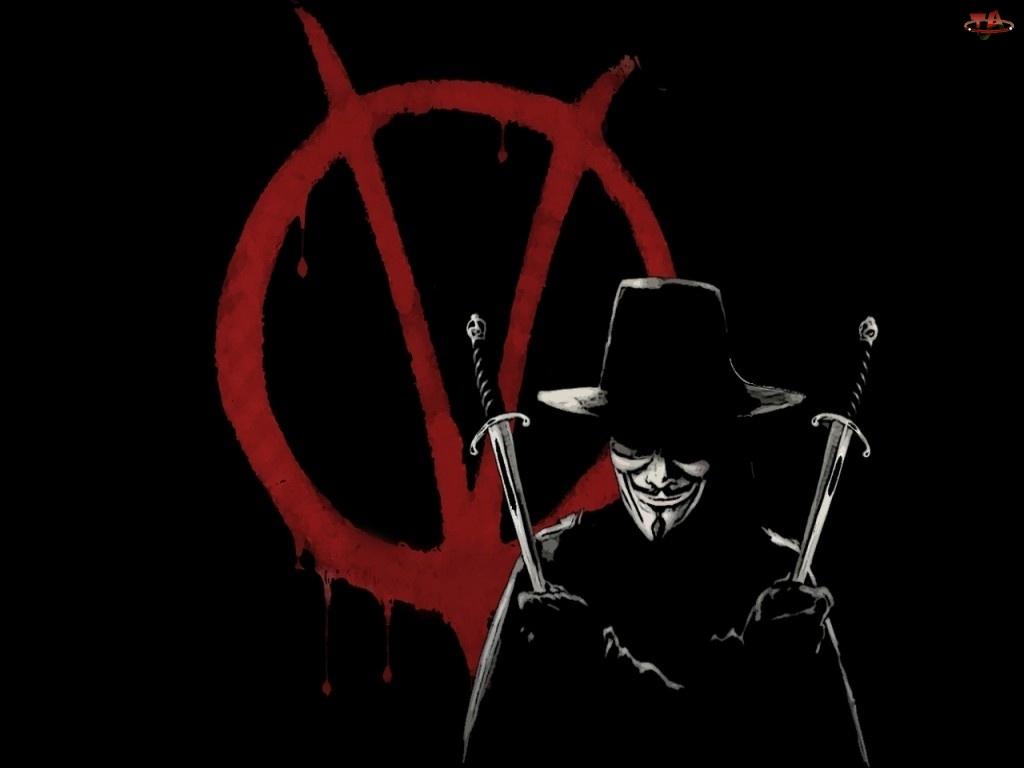 Vendetta, Kapelusz, Człowiek, Sztylety
