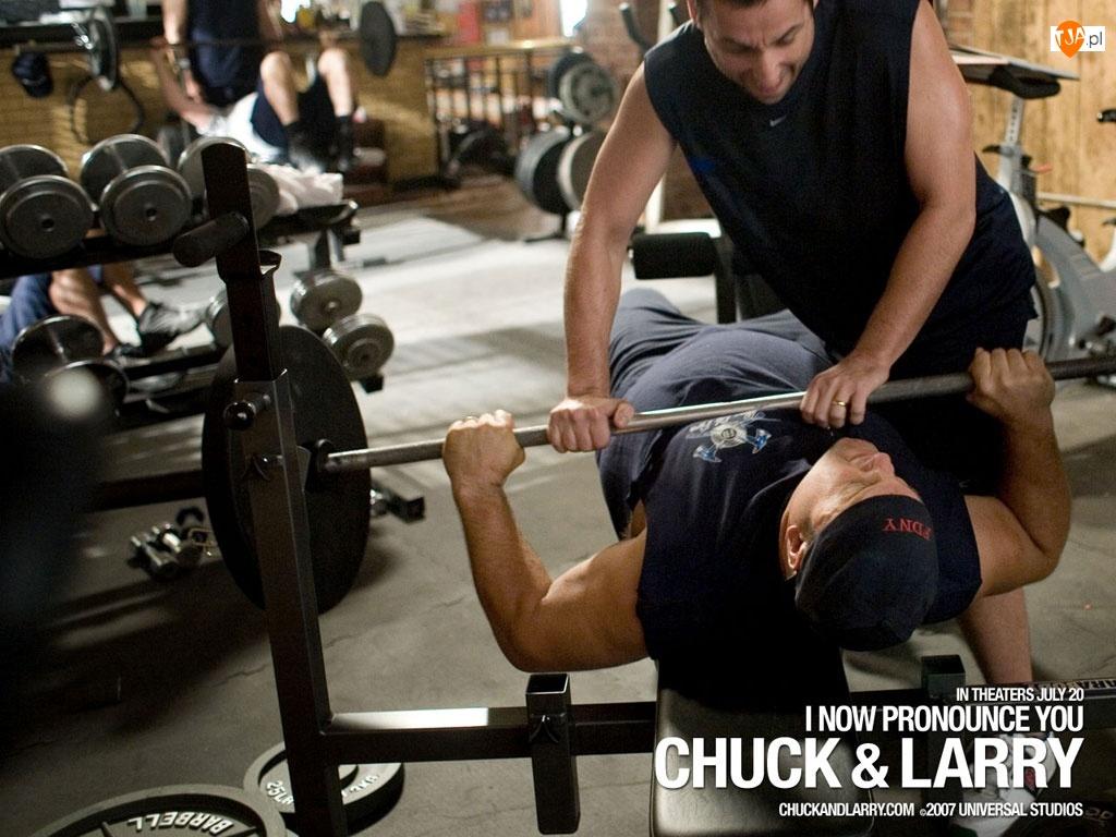 siłownia, I Now Pronounce You Chuck And Larry, Adam Sandler