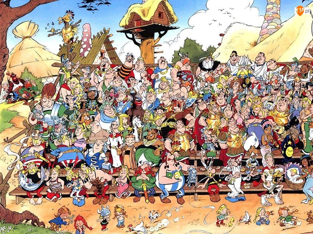 Bohaterowie, Asterix i Obelix
