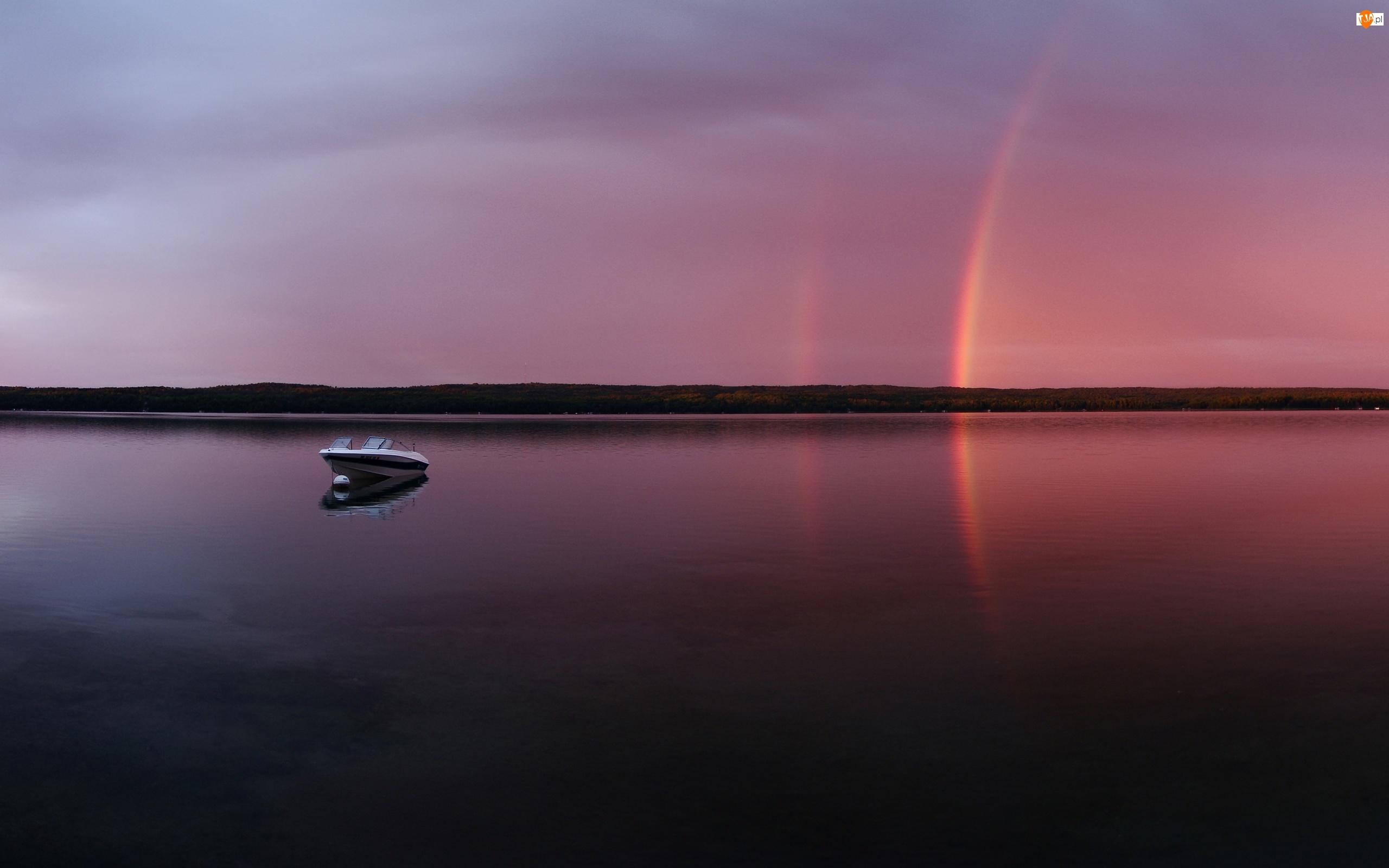 Tęcza, Jezioro