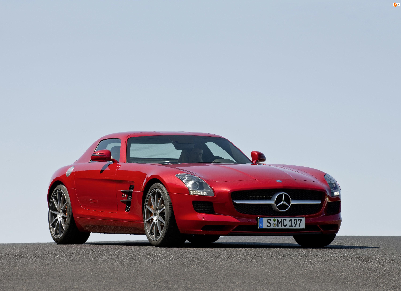 Mercedes Benz SLS, Parkowania, AMG, Czujniki