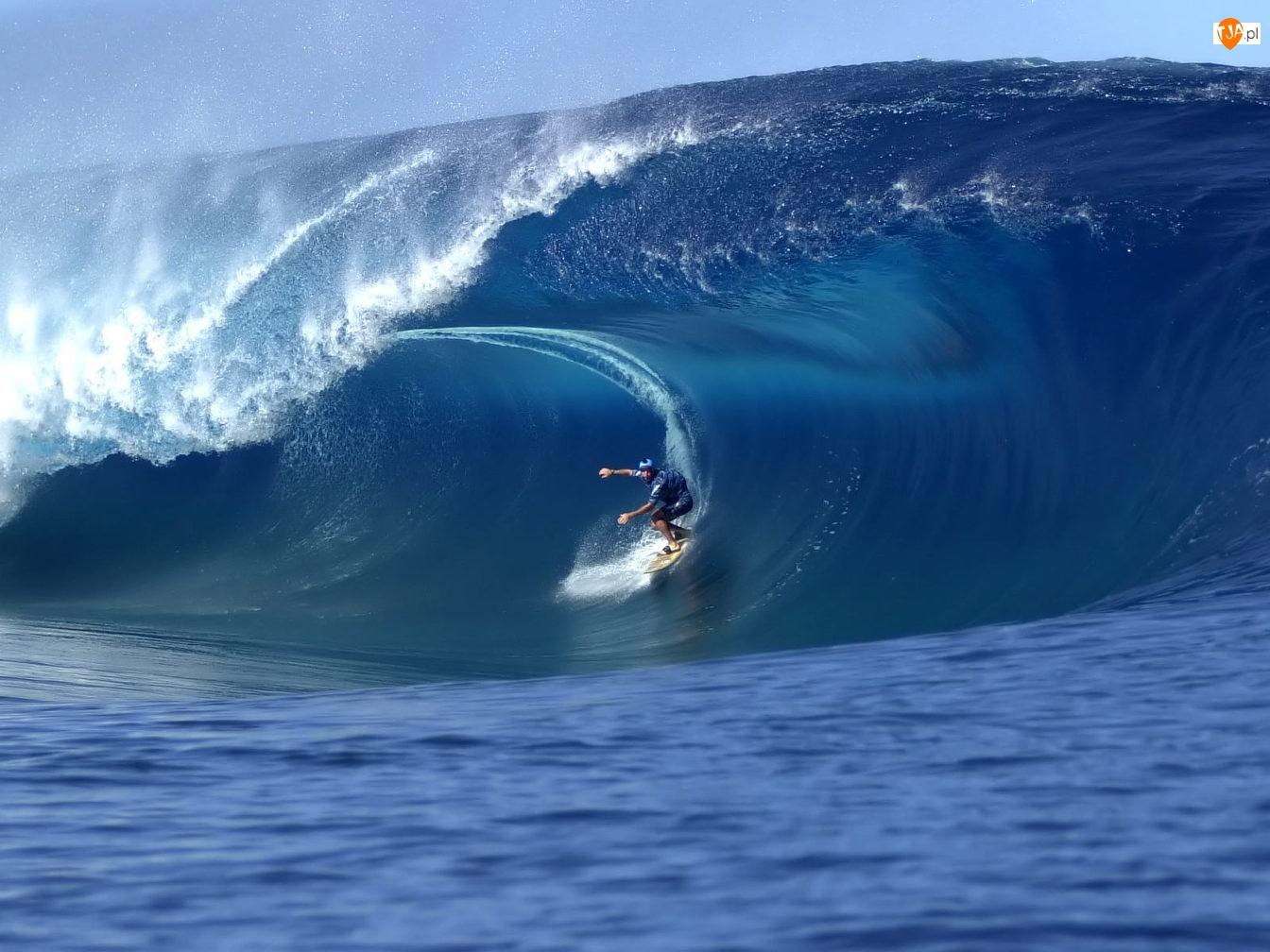 Morze, Surfing, Sport