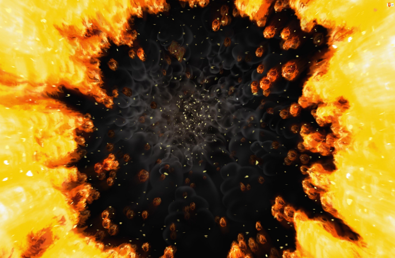 Ogień, Magma