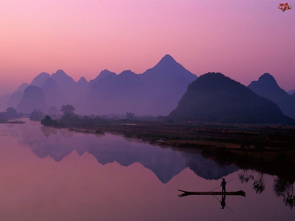 Góry, Chiny, Rzeka