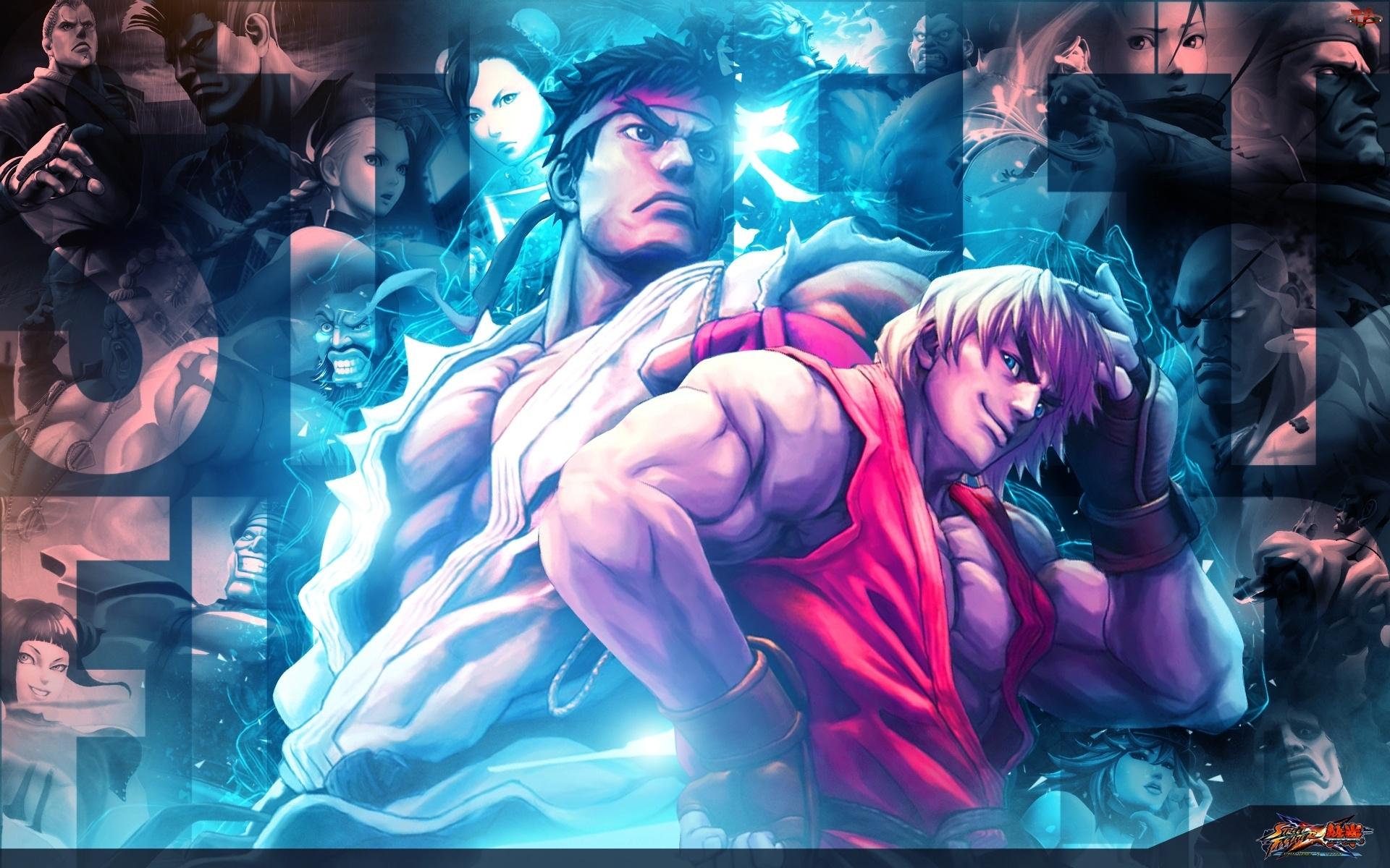 Postacie, Street Fighter X Tekken, Ryu, Ken