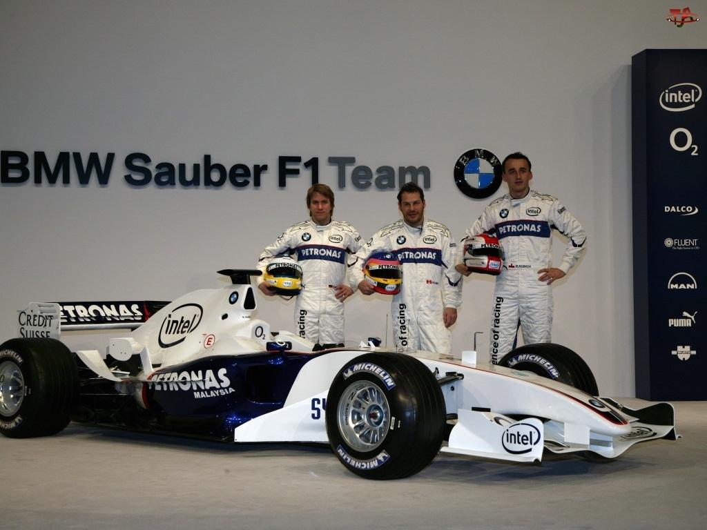 Formuła 1, kierowcy, BMW Sauber, bolid