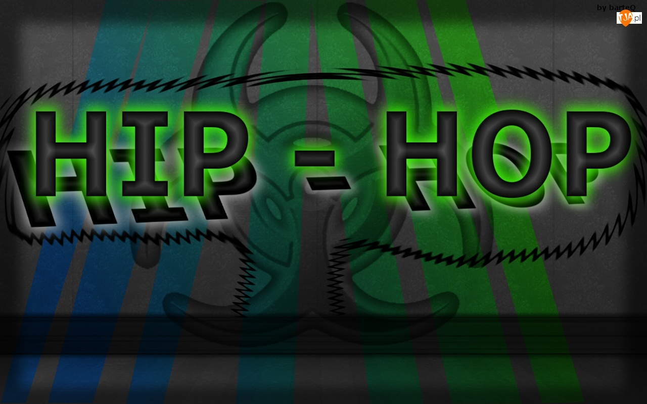 Grafika 2D, Hip hop, Napis