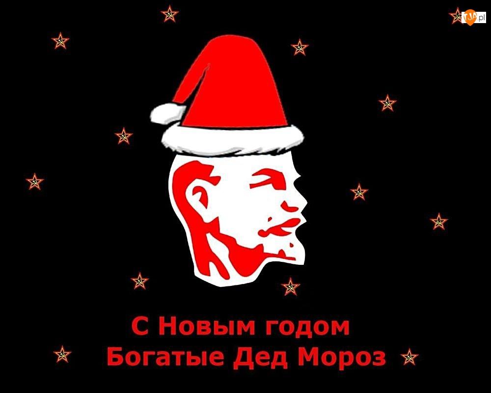 Mikołaj, Gwiazdki, Lenin