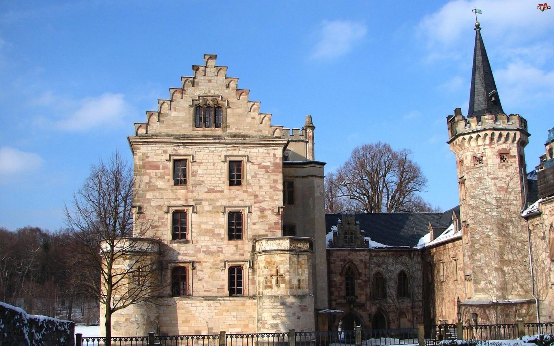 Zamek, Turyngia, Klasztor, Reinhardsbrun