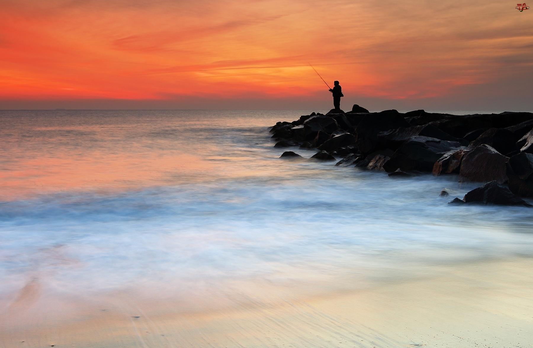 Morze, Wędkarz