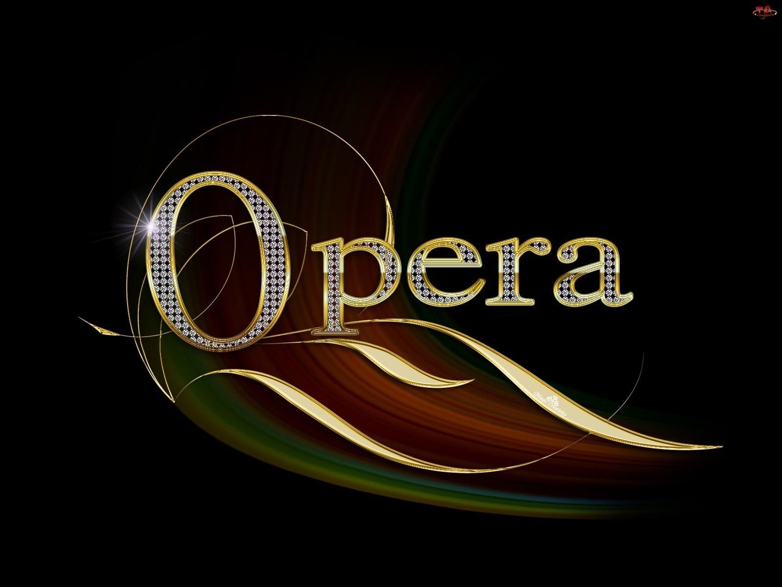 Opera, Grafika