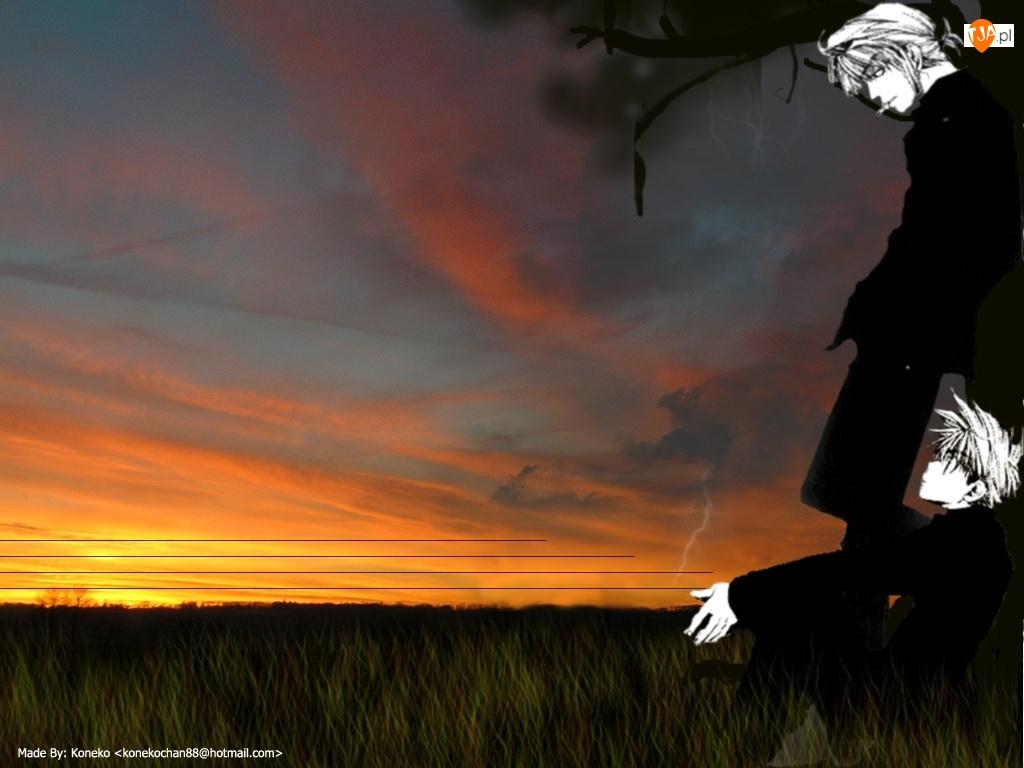 dwie, Saiyuki, postacie mono